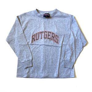Rutgers University longsleeve shirt women's small